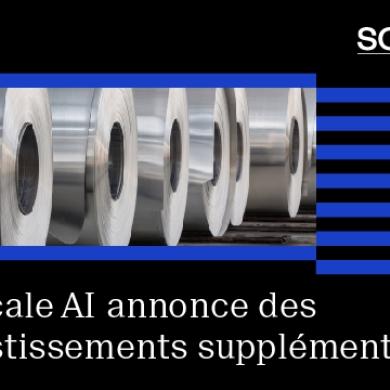 Investissements de 29 millions de dollars : Scale AI soutient cinq nouveaux projets pour accélérer la transition vers l'intelligence artificielle