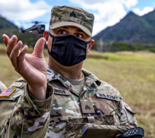 L'US Army développe un concept innovant de collaboration drones – robots