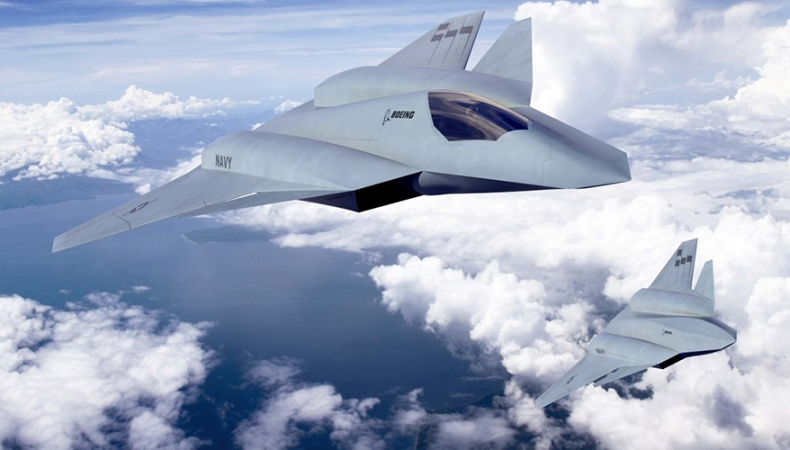 Navys Next Generation Air Dominance Program to be Family of Manned Unmanned Systems