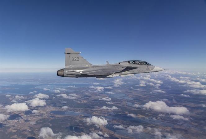 Saab trials 3D-printed part on Gripen for battlefield repairs - Skies Mag